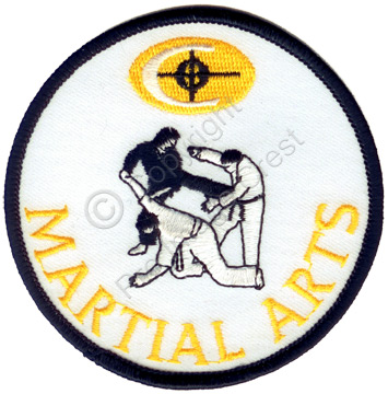 Sample martial arts patch