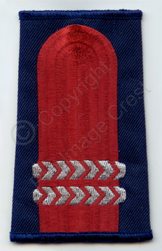 Custom slip-on epaulettes
